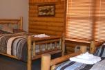 pine lodge room