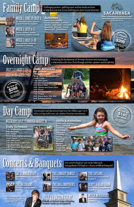 2013 summer brochure inside